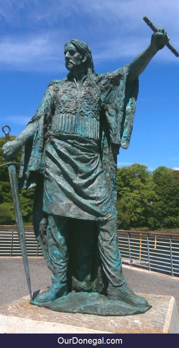 Celtic Chieftain Red Hugh O'Donnell I Built Donegal Castle In Donegal Town Ireland