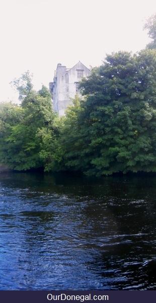 The River Eske Flowing Past Donegal Castle