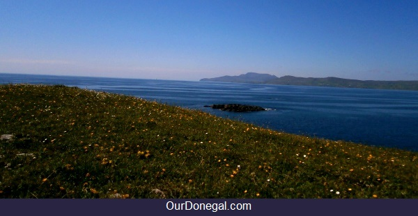 Slieve League And Coastal Southwest Donegal Viewed From Saint John's Point