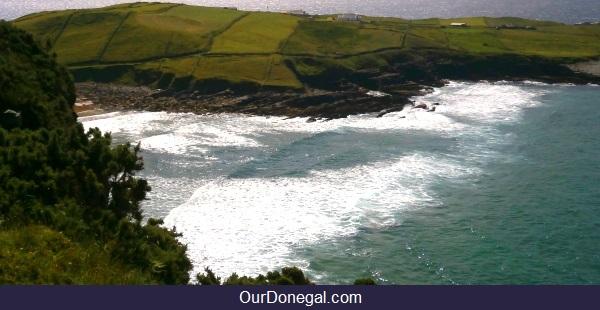 Example Of Coastal Terrain Near Kilcar, Donegal