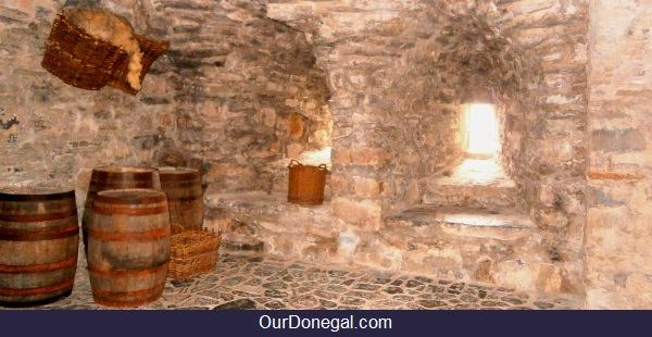 Donegal Castle Original Store Room Floor And Walls