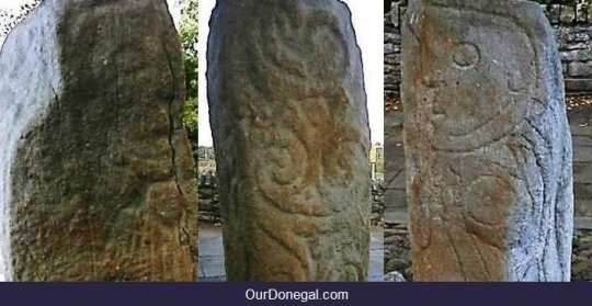 Celtic Stone Carvings C.650AD