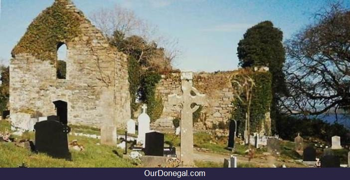 Killydonnell Celtic Franciscan Friary Near Letterkenny, Founded 1471 By The O'Donnells