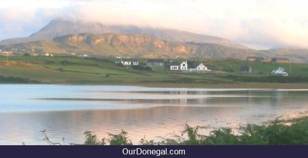 Muckish Mountain Near Letterkenny, Donegal Ireland