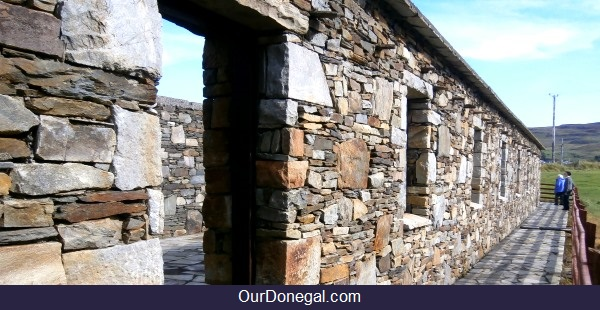 The Spaniard's Chapel, Southwest Donegal, Viewed From The Back