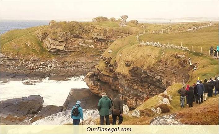 Field Trip To Kilbarron Castle Ruins With The Mícheál Ó'Cléirigh School