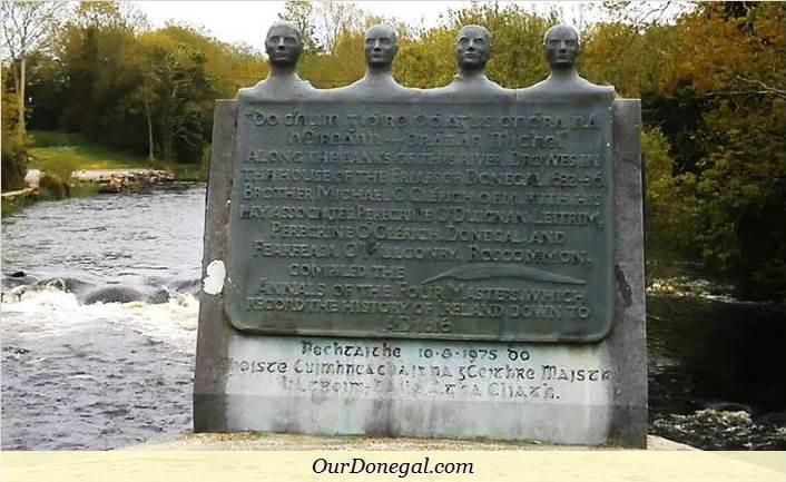 Monument To The Four Authors Of 'The Annals Of The Kingdom Of Ireland'