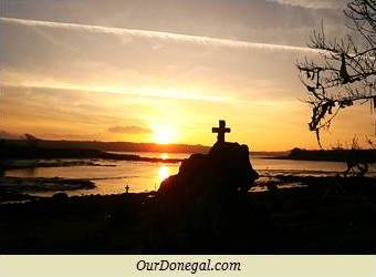 Sunset Over The Erne Estuary, From Abbey Well, Ballyshannon, Ireland
