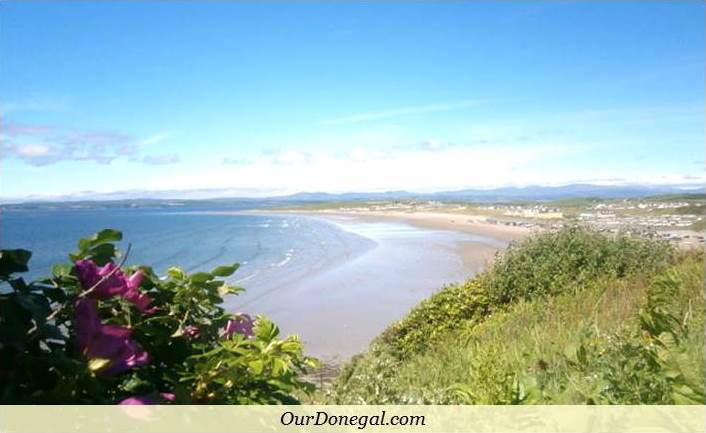 Rossnowlagh Beach Is A Short Drive North Of Bundoran Co Donegal, Northwest Ireland
