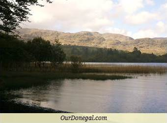 Lough Eske And The Bluestack Mountains, Donegal
