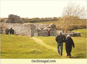 Visiting Kilbarron Church Ruins In South Donegal Ireland