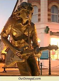 Blues And Rock Guitar Legend Rory Gallagher, Born In Ballyshannon 1948