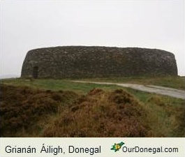 Grianan Of Aileach On The Inishowen Peninsula, Northwest Donegal, Ireland