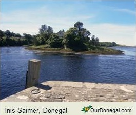Inis Saimer In Donegal County, Seat Of Pre History's Partholóin Tribe
