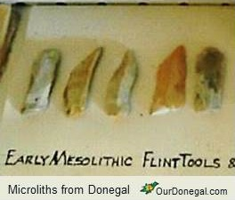 Microliths Of Early Mesolithic Age C.6,000-8,000BC Found In Donegal, Northwest Ireland