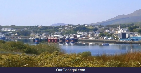 The 'Fairwinds' About To Set Sail At Killybegs Donegal Ireland