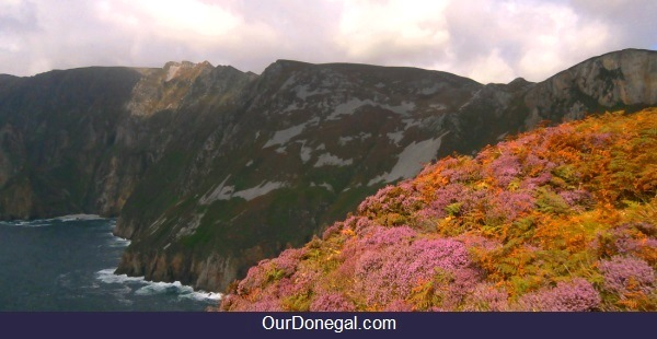 Slieve League Cliffs, Killybegs Donegal Ireland. Europe's Highest Sea Cliffs