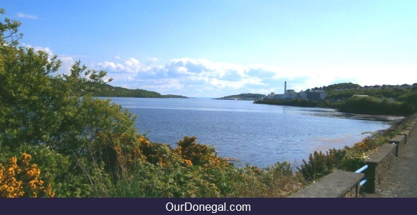 The Natural Harbor At Killybegs Donegal Ireland