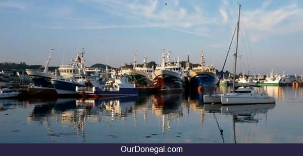 Killybegs Donegal Ireland Fishing Boats, Pleasure Craft