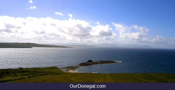 Atlantic Views From Largy, Donegal Ireland