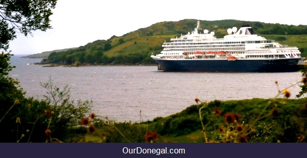 Holland America Prinsendam At Killybegs Donegal Ireland