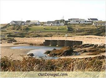 Cruit Island Bridge At Low Tide, Donegal County, Ireland