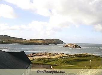 Scenic Cruit Island Golf Club, Donegal County, Is Almost In The Ocean