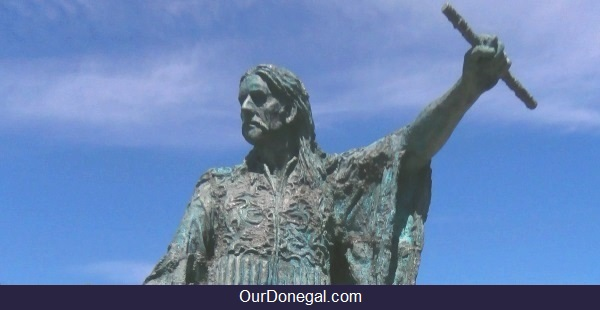 Celtic Chieftain Red Hugh O'Donnell I Built Donegal Castle, Donegal Ireland