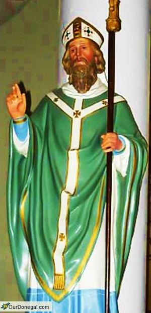 Patrick, Patron Saint Of Ireland. Former Slave Returned, Christianized Pagan Celts