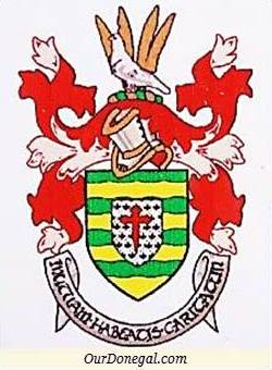 A Representation Of King Conall's Cross On Donegal County Coat Of Arms