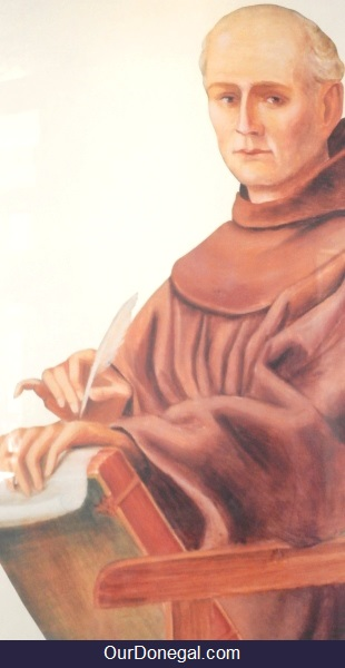 Brother Michael O'Cleary Image Displayed In Donegal Castle