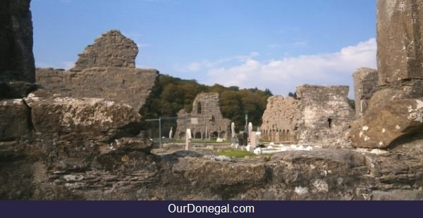 Donegal Town's Historic Franciscan Friary Ruins