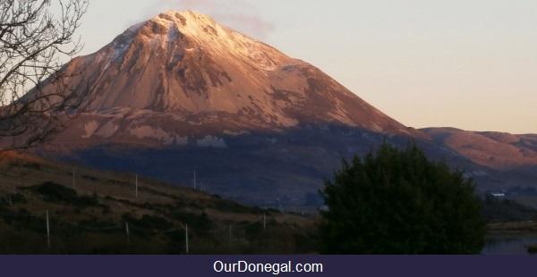 Errigal Mountain Near Glenveagh National Park, Northwest County Donegal Éire