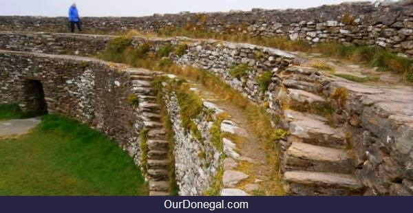 Grianan Of Aileach, Ancient Fort Of Celtic Kings, Inishowen Donegal