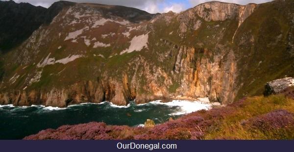 Slieve League Cliffs, Near Killybegs In Southwest Donegal