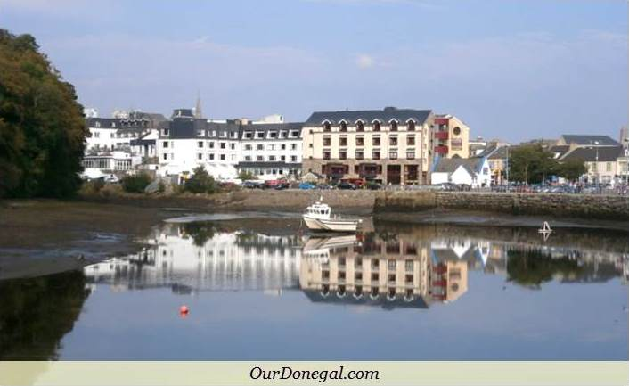 River Eske Estuary, Donegal Town, Northwest Ireland