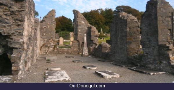 The Ruined Celtic Friary Of The Franciscans, Donegal Town