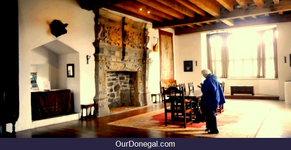 The Banqueting Hall, O'Donnells' Castle Donegal Town, Northwest Ireland