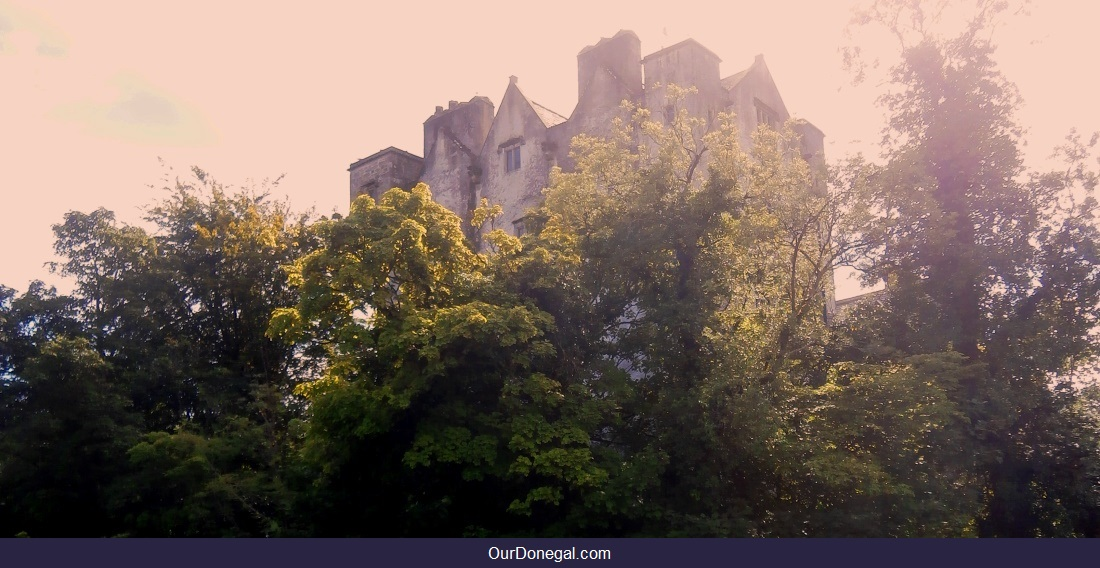 Donegal Castle In Donegal Town, Northwest Ireland