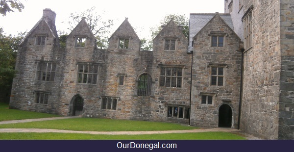 Sir Basil Brooke's Jacobean Manor-House Extension To The Celtic Castle Donegal Town