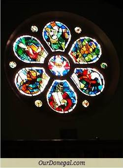 Rose Window By Evie Hone, Ardara, County Donegal