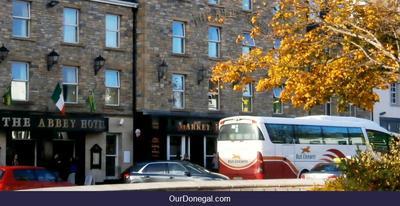 Bus Eireann At Abbey Hotel, Donegal Town