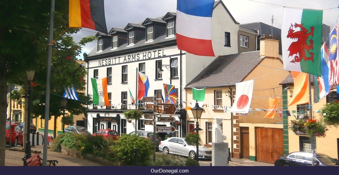 The Nesbitt Arms Hotel Is One Of Five Popular Hotels In Donegal Southwest