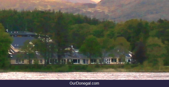 Harveys Point Hotel On The Idyllic Shores Of Lough Eske Near Donegal Town Ireland