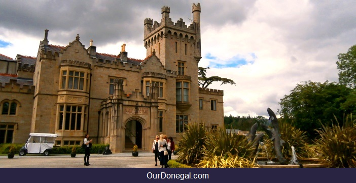 Lough Eske Castle 5-Star Lakeside Hotel Donegal Town Ireland