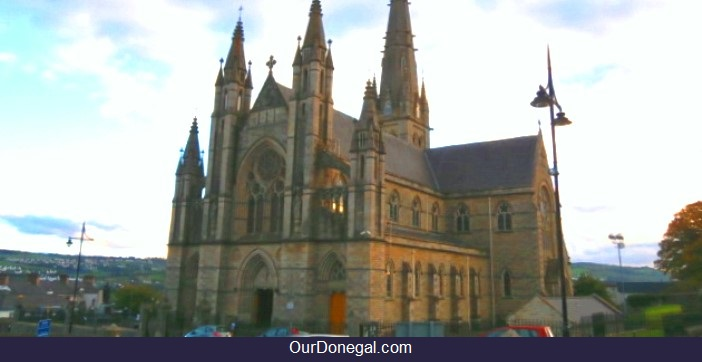 The Cathedral of Saints Eunan and Columba Is Near Most Letterkenny Hotels