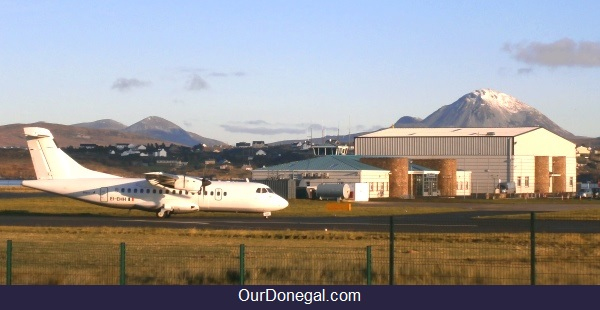 Carickfinn Airport, Northwest Donegal Ireland