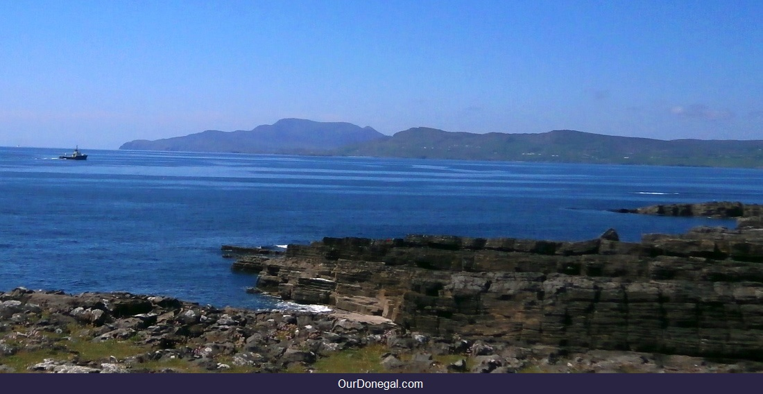 View From Saint Johns Point Donegal: Atlantic Coast And Distant Slieve League