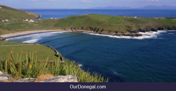 A Popular Local Surf Spot At Muckross, Near Killybegs In Southwest Donegal