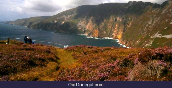 Slieve League Cliffs Near Killybegs